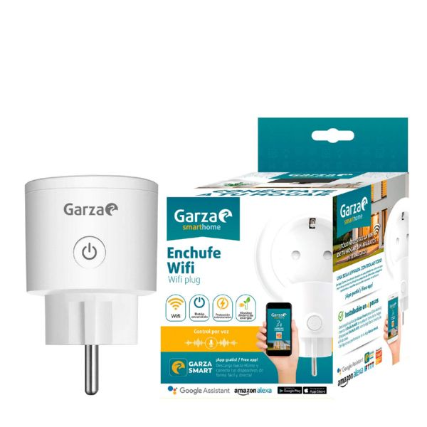 ENCHUFE WIFI 16A GARZA SMART