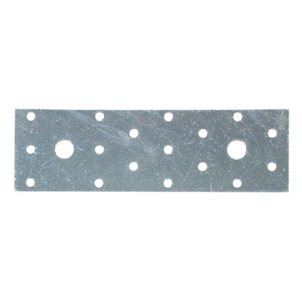 Placa pesante perforada. 50x120 mm. 50 uni.